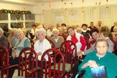 Családi karácsony a Kaán Károly úti Idősek Otthonában